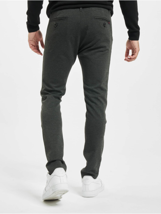 Denim Project Chino Ponte Roma Plain grey
