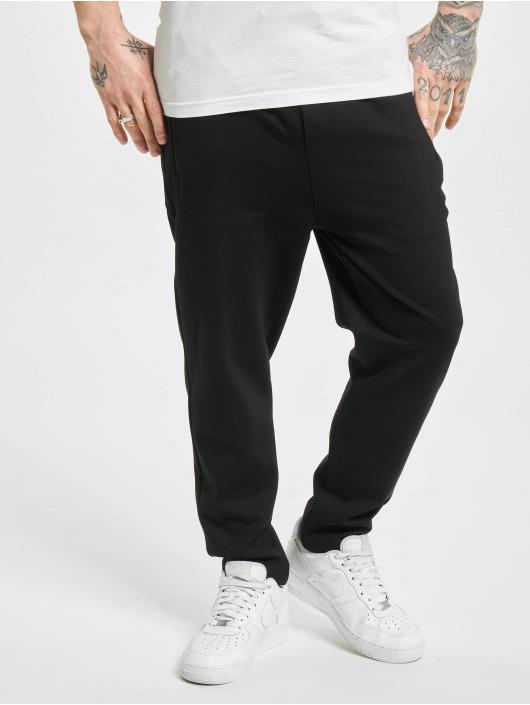 Denim Project Chino pants Ponte Elastic Cropped black