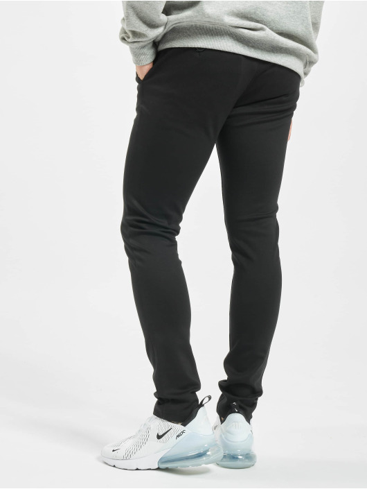 Denim Project Chino Ponte Roma Plain schwarz