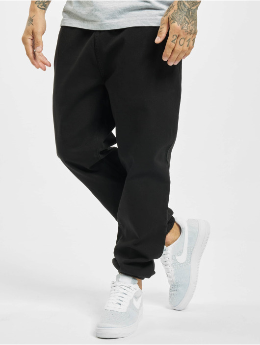 Denim Project Chino Drawstring schwarz