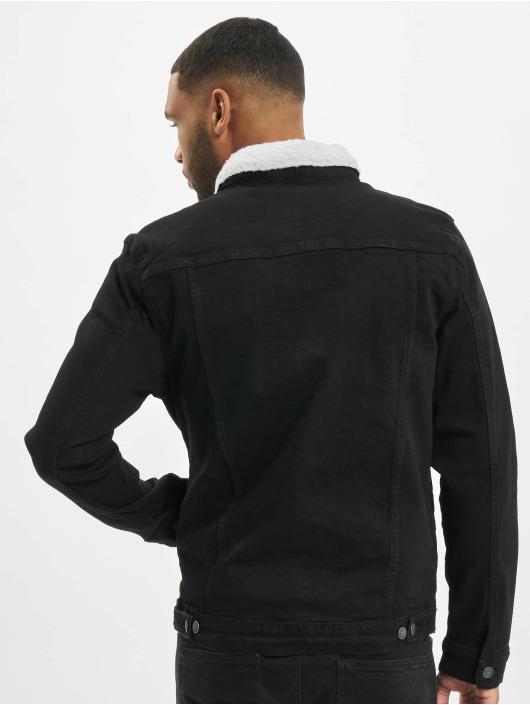 Denim Project Denim Jacket Kash Teddy Denim black