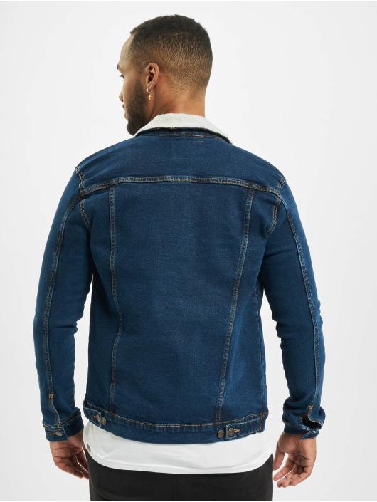 Denim Project Denim Jacket Kash Teddy blue