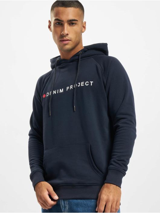 Denim Project Felpa con cappuccio Logo nero