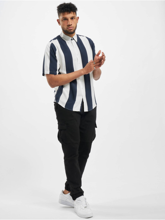 Denim Project Hemd Stripe blau