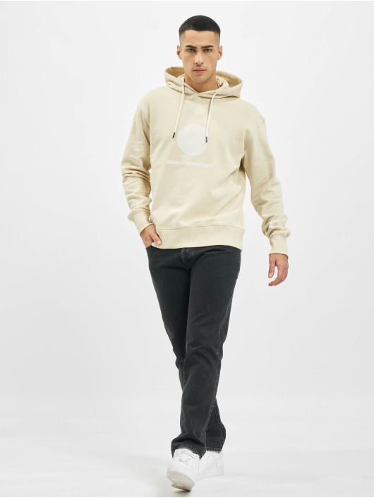 Denim Project Hoodies Horizon Logo Organic beige