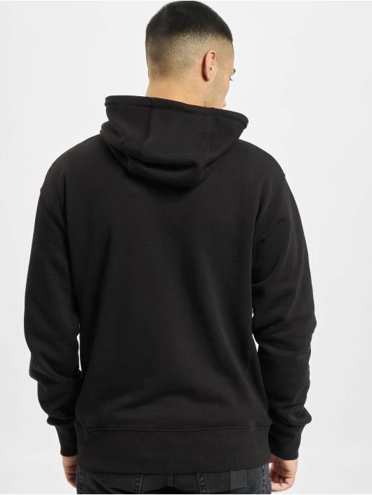 Denim Project Hoody Horizon Logo Organic schwarz