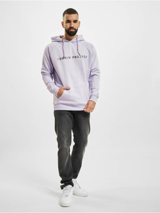 Denim Project Hoody Logo violet