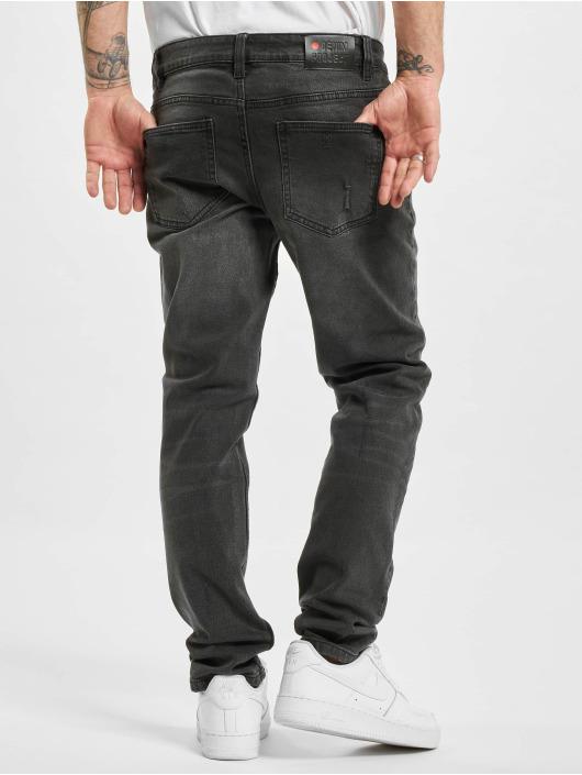 Denim Project Jean coupe droite Mr. Red Destroy gris