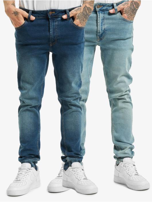 Denim Project Jean slim Mr Red 2-Pack bleu