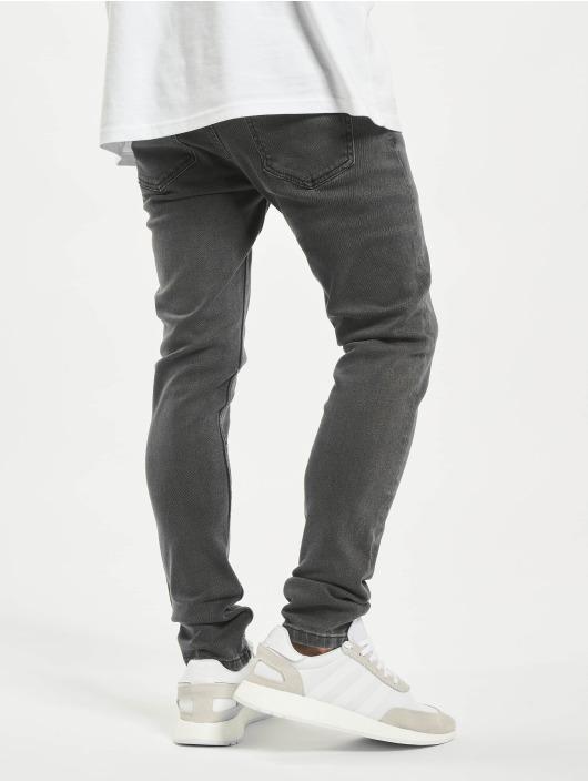 Denim Project Jeans slim fit Mr. Red grigio