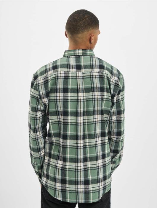 Denim Project Koszule Check zielony