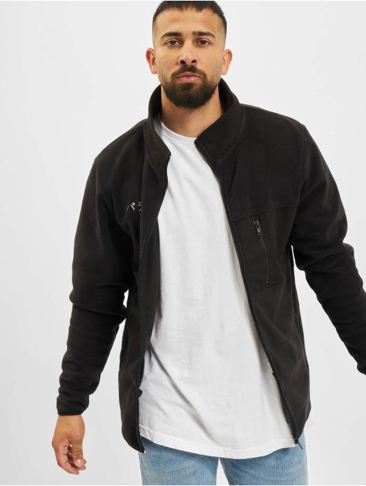 Denim Project Lightweight Jacket Fleece Zip black