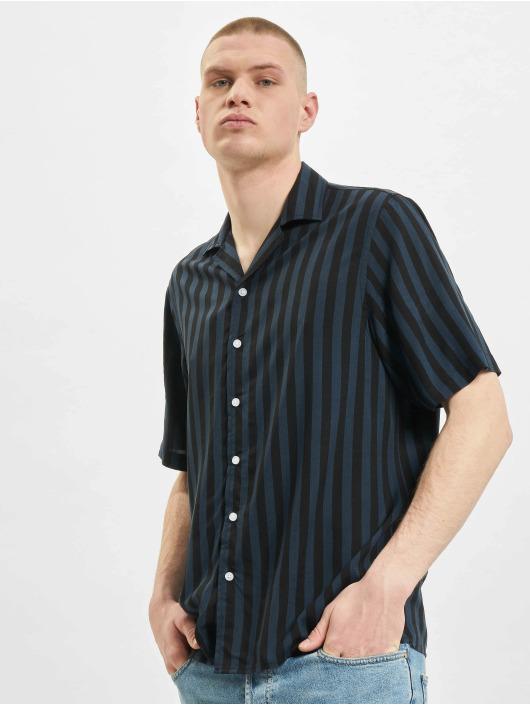 Denim Project overhemd El G Ss Cuba zwart
