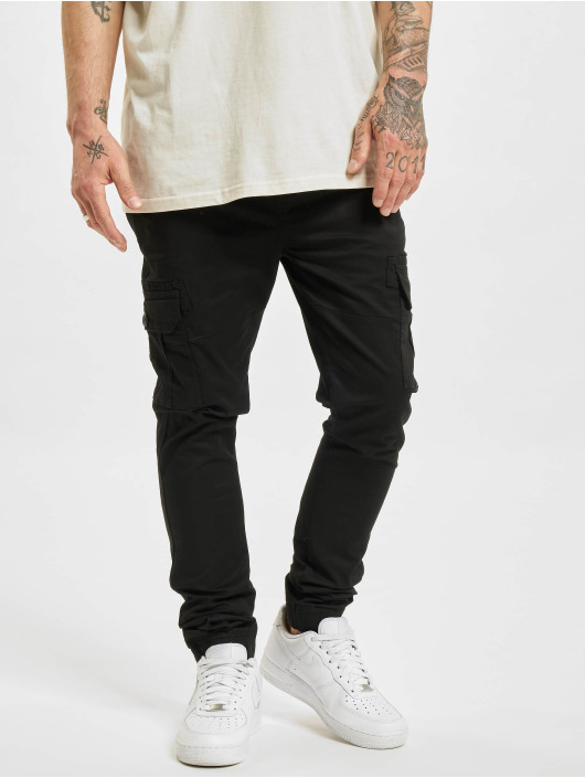 Denim Project Pantalon cargo Caka noir