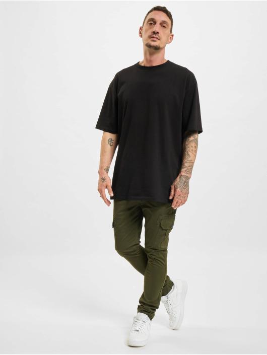 Denim Project Pantalon cargo Caka vert