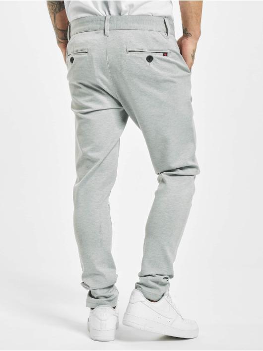 Denim Project Pantalon chino Ponte Roma Plain gris
