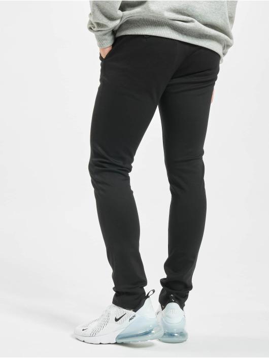 Denim Project Pantalone chino Ponte Roma Plain nero