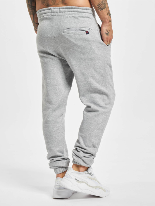 Denim Project Pantalone ginnico Logo grigio