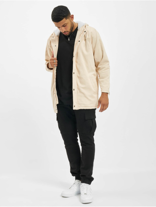 Denim Project Parka Teddy beige