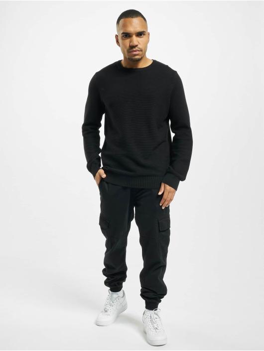 Denim Project Pullover Knit Crewneck black