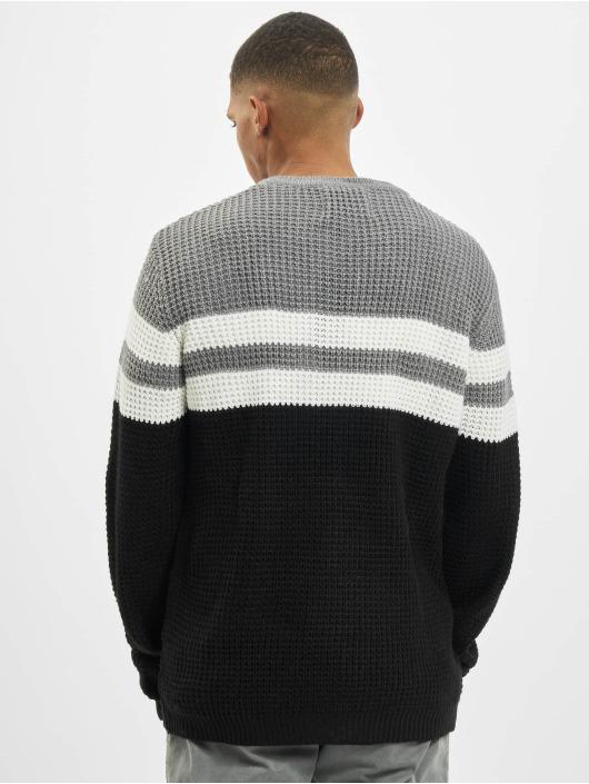 Denim Project Pulóvre Stripe èierna