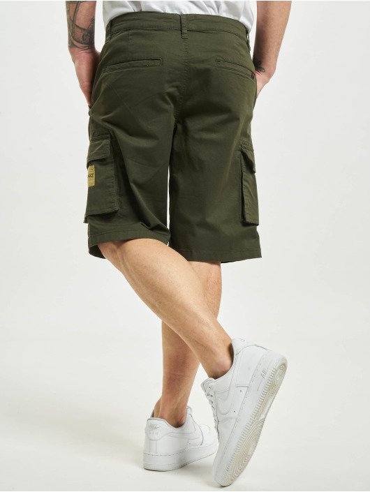 Denim Project Short Cargos olive