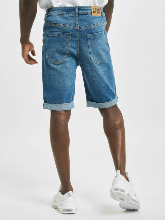 Denim Project shorts Mr. Orange blauw