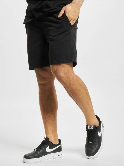 Denim Project shorts Drawstring Organic zwart