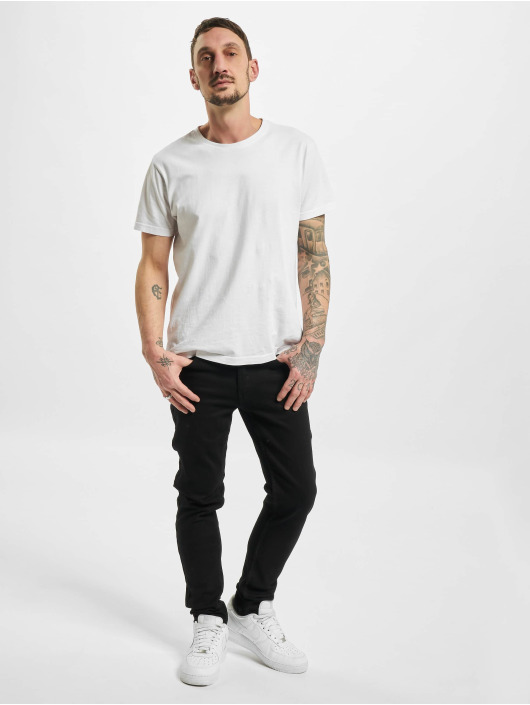 Denim Project Skinny Jeans Mr. Green čern