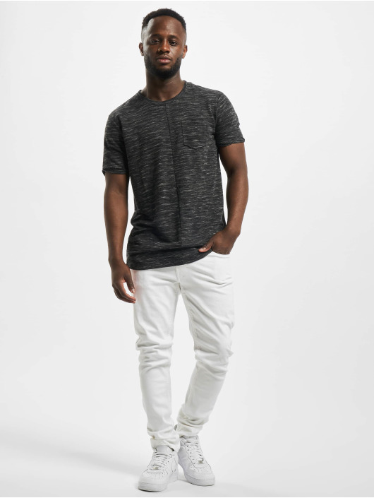 Denim Project Skinny Jeans Mr. Red bialy