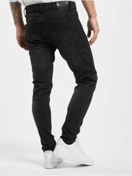 Denim Project Skinny Jeans Mr. Red black