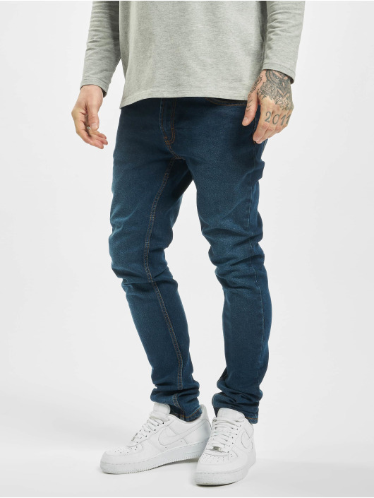 Denim Project Skinny Jeans Mr. Red blau