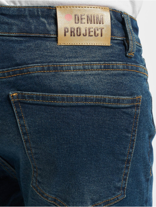 Denim Project Skinny Jeans Mr. Red blau