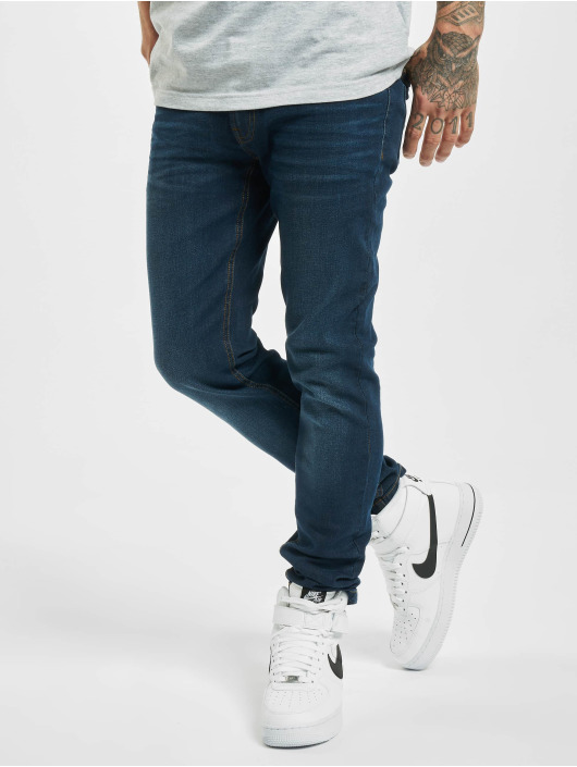 Denim Project Skinny Jeans Mr. Black blau