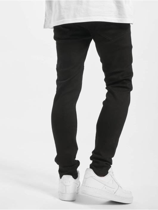 Denim Project Skinny Jeans Mr. Red czarny