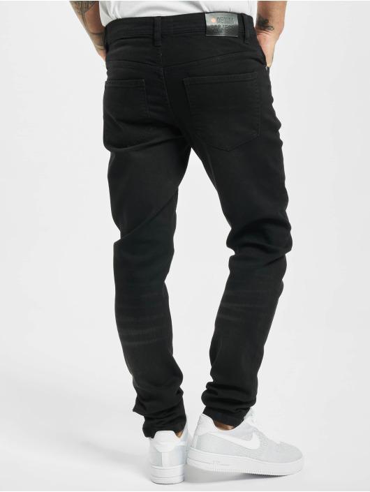 Denim Project Skinny Jeans Mr. Black czarny