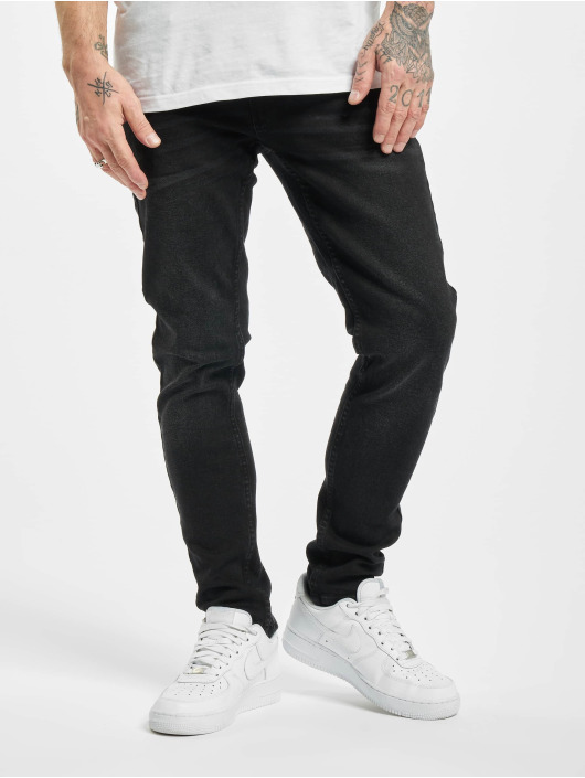 Denim Project Skinny Jeans Mr. Red czarny