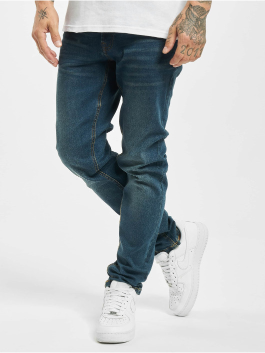 Denim Project Skinny Jeans Mr. Black niebieski