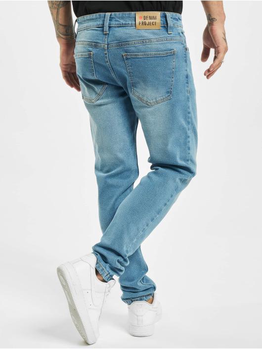 Denim Project Skinny Jeans Mr. Red niebieski