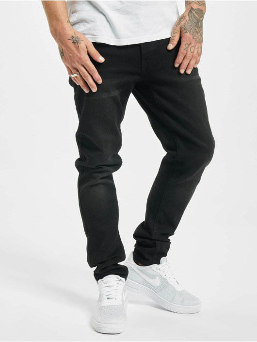 Denim Project Skinny Jeans Mr. Black schwarz