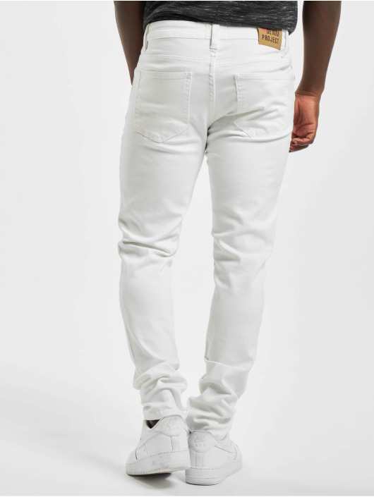 Denim Project Skinny Jeans Mr. Red weiß