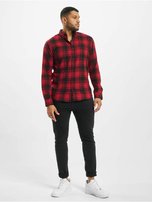 Denim Project Skjorte Check rød