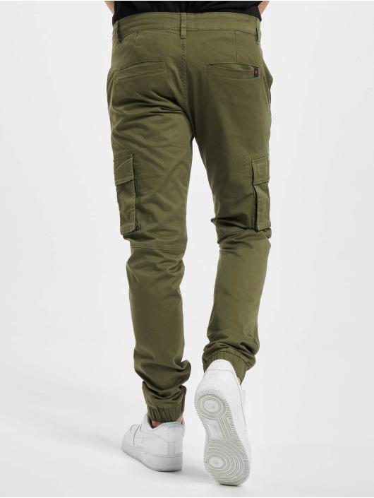 Denim Project Spodnie Chino/Cargo Classic zielony