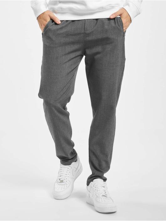 Denim Project Stoffbukser Suit grå