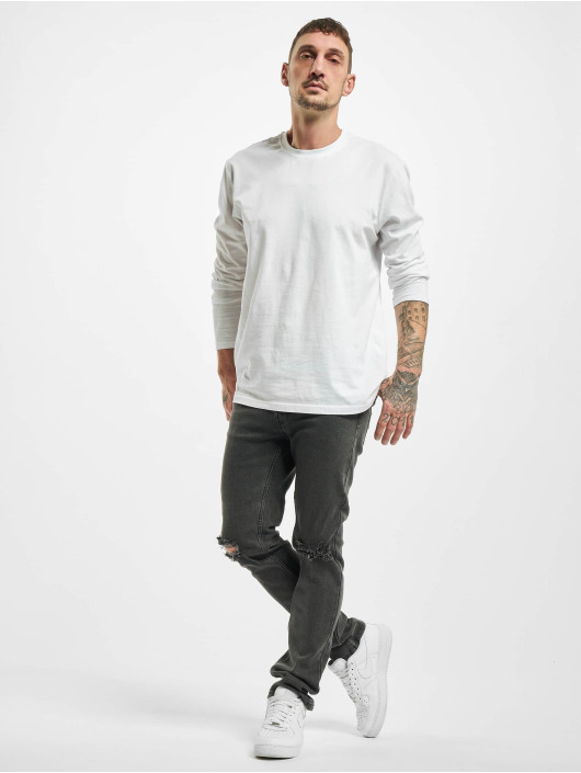 Denim Project Straight Fit Jeans Mr Red Knee gray