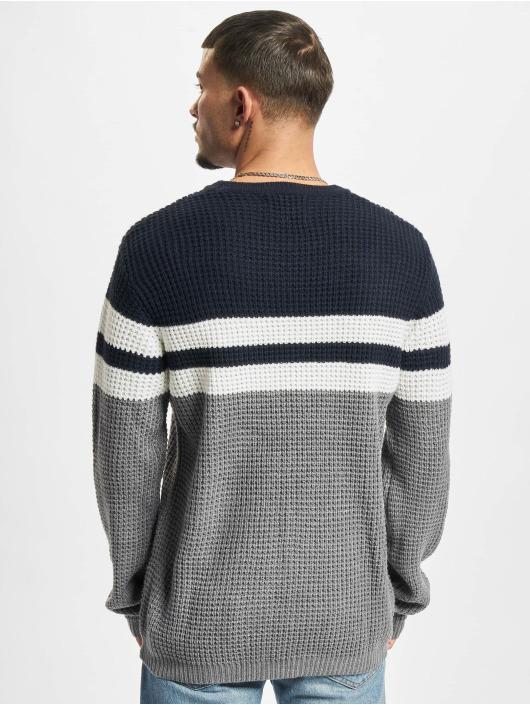 Denim Project Sweat & Pull Strip Knit bleu