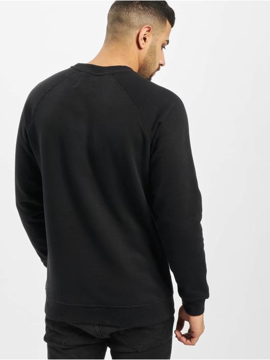 Denim Project Swetry Logo Crew czarny