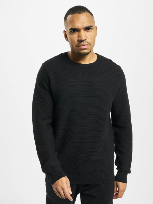 Denim Project Swetry Knit Crewneck czarny