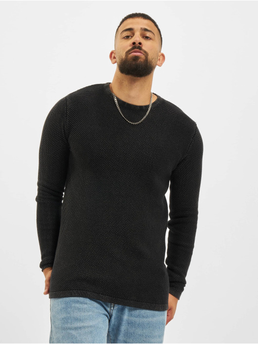 Denim Project Swetry Dot Knit czarny