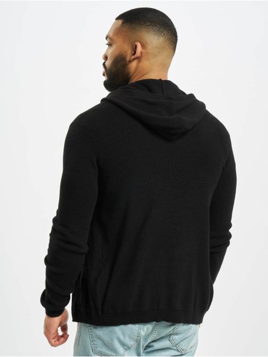 Denim Project Swetry rozpinane Knit czarny